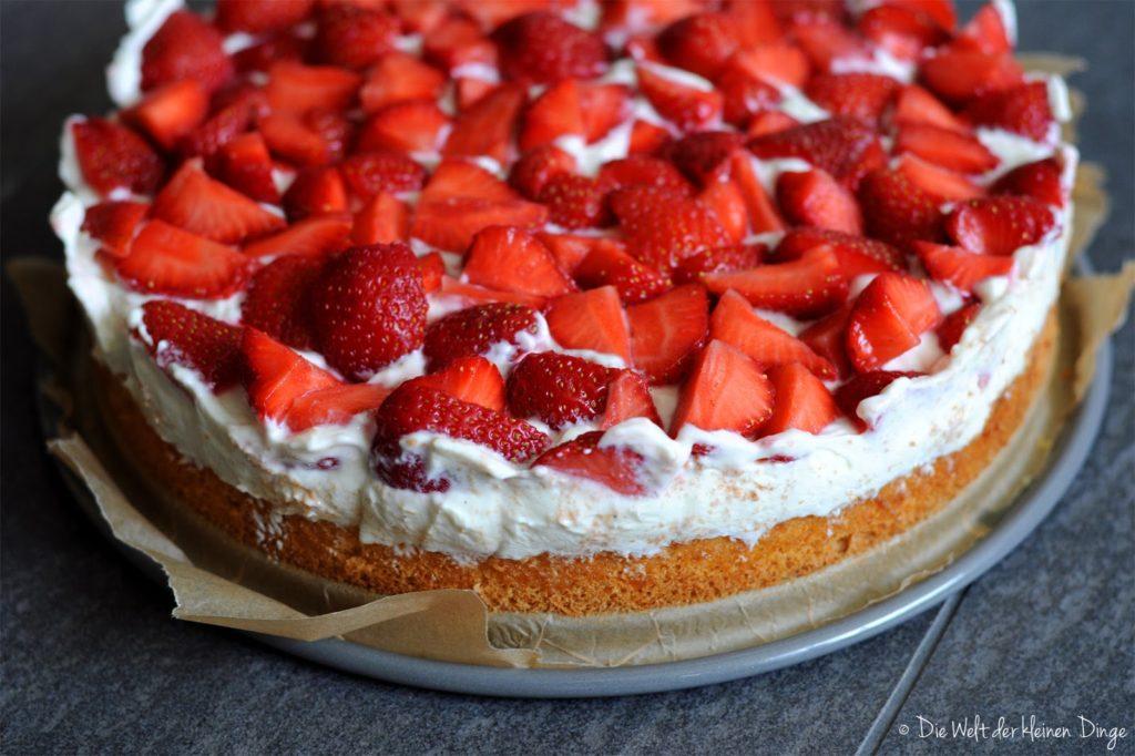 Rezept kuchen erdbeer mascarpone
