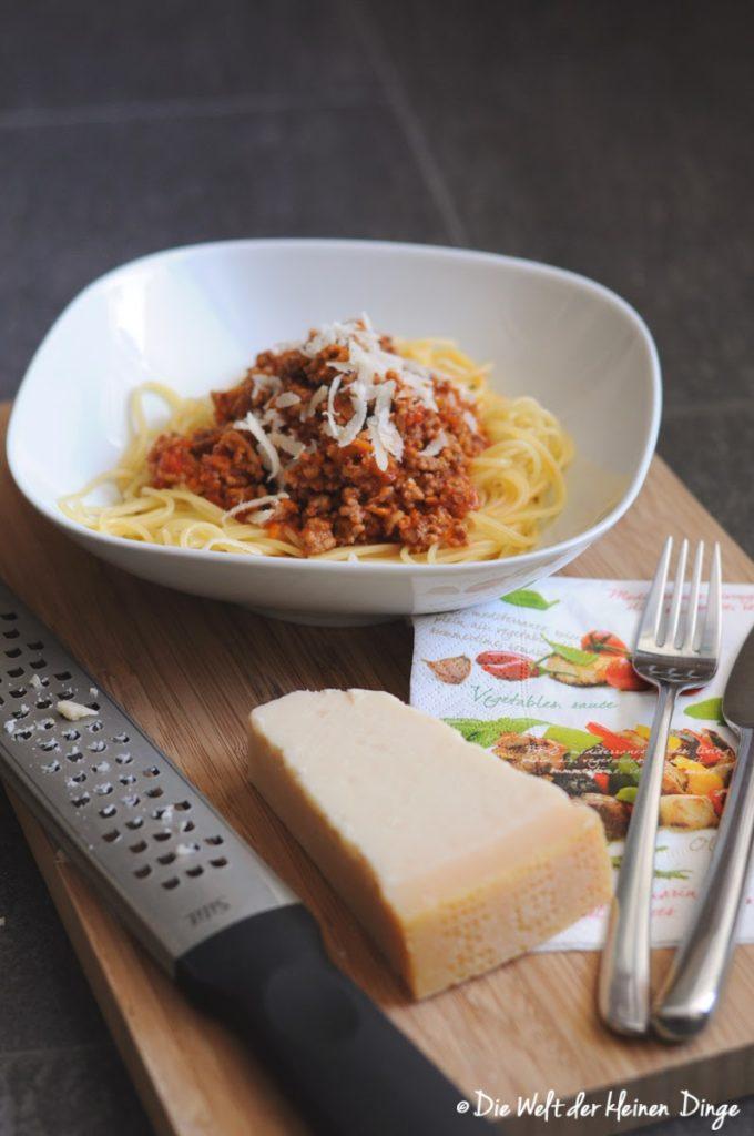 Die Welt der kleinen Dinge: Spaghetti Bolognese