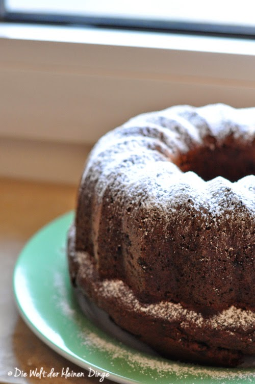 Schneller Bananen-Schoko-Kuchen als Restverwertung