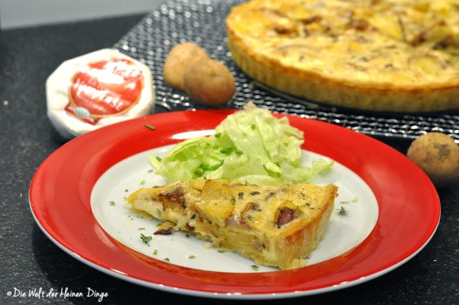 Kartoffel-Käse-Tarte mit Tomme Vaudoise