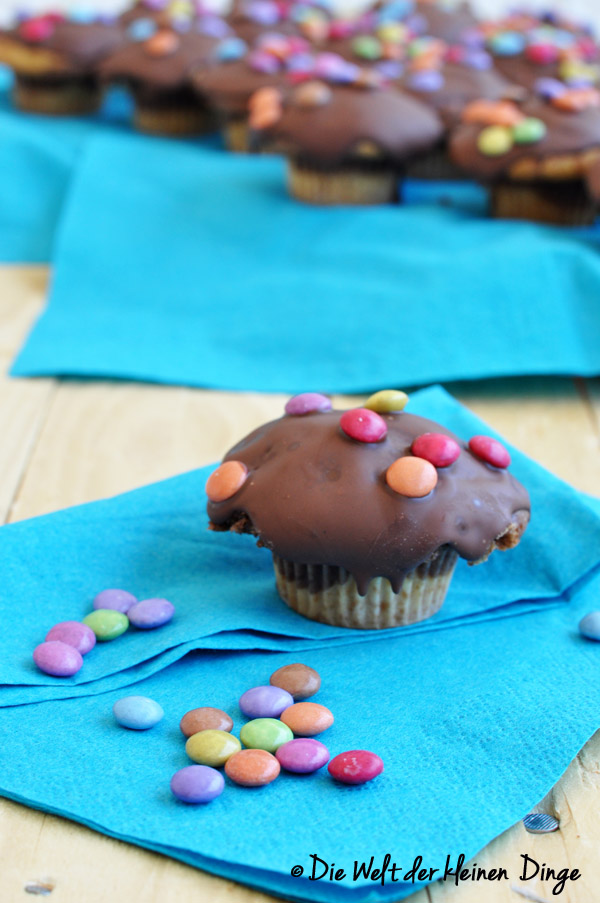 Smarties-Marmor-Muffins