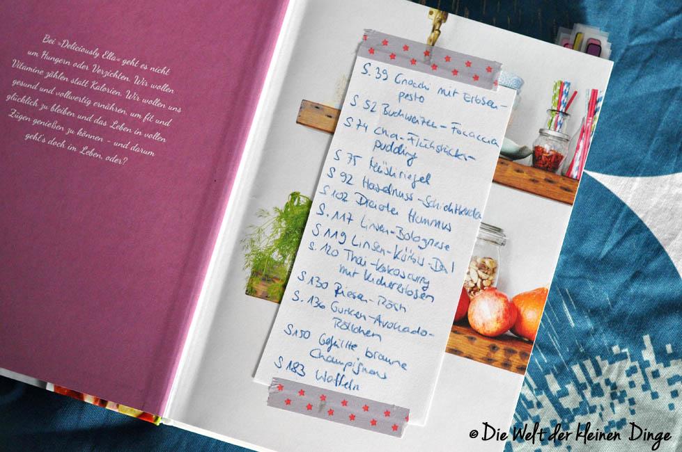 Kochbuch, Challenge, Kochbuchchallenge, Wochenplan, was ess ich heute, planung, vegan