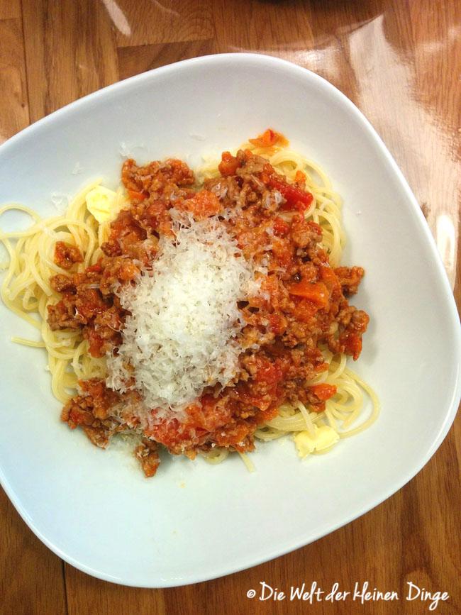 Spaghetti Bolognese, Bolognese, Pasta, italienisch