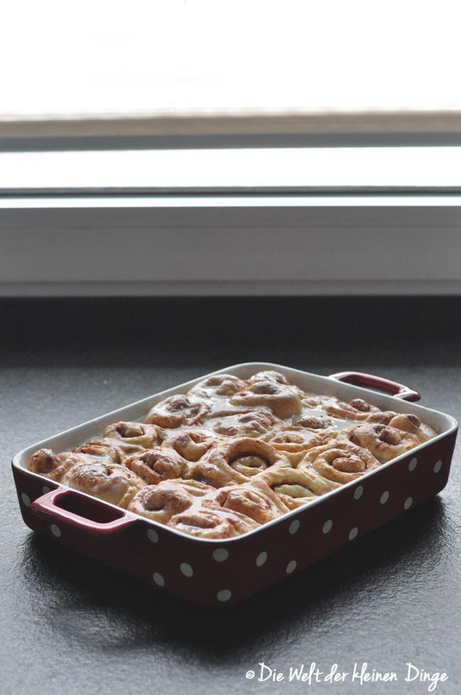Die Welt der kleinen Dinge: Soft Cinnamon Rolls / weiche Zimtschnecken